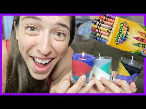 Making Layered Candles!