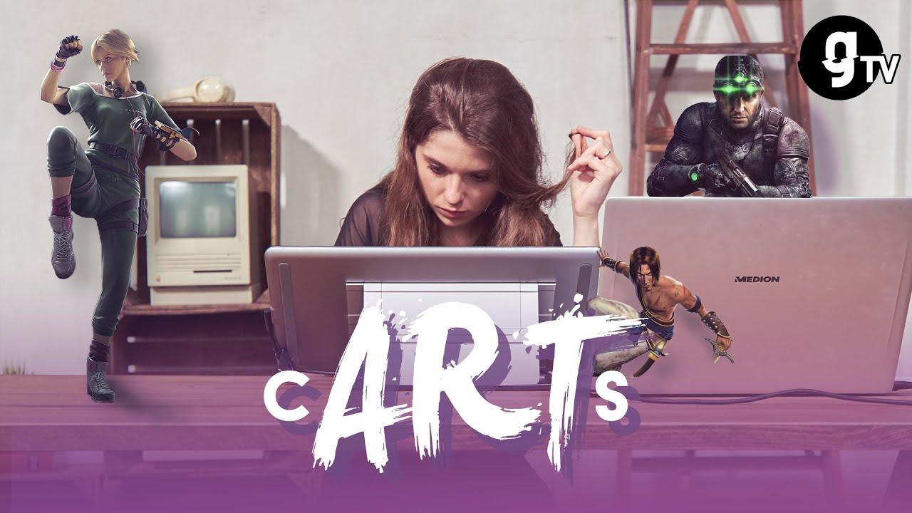 Gartic Phone als Real-Life-Kartenspiel mit Gaming-Charakteren??? — Das ist cARTs!   Folge #01   gTV