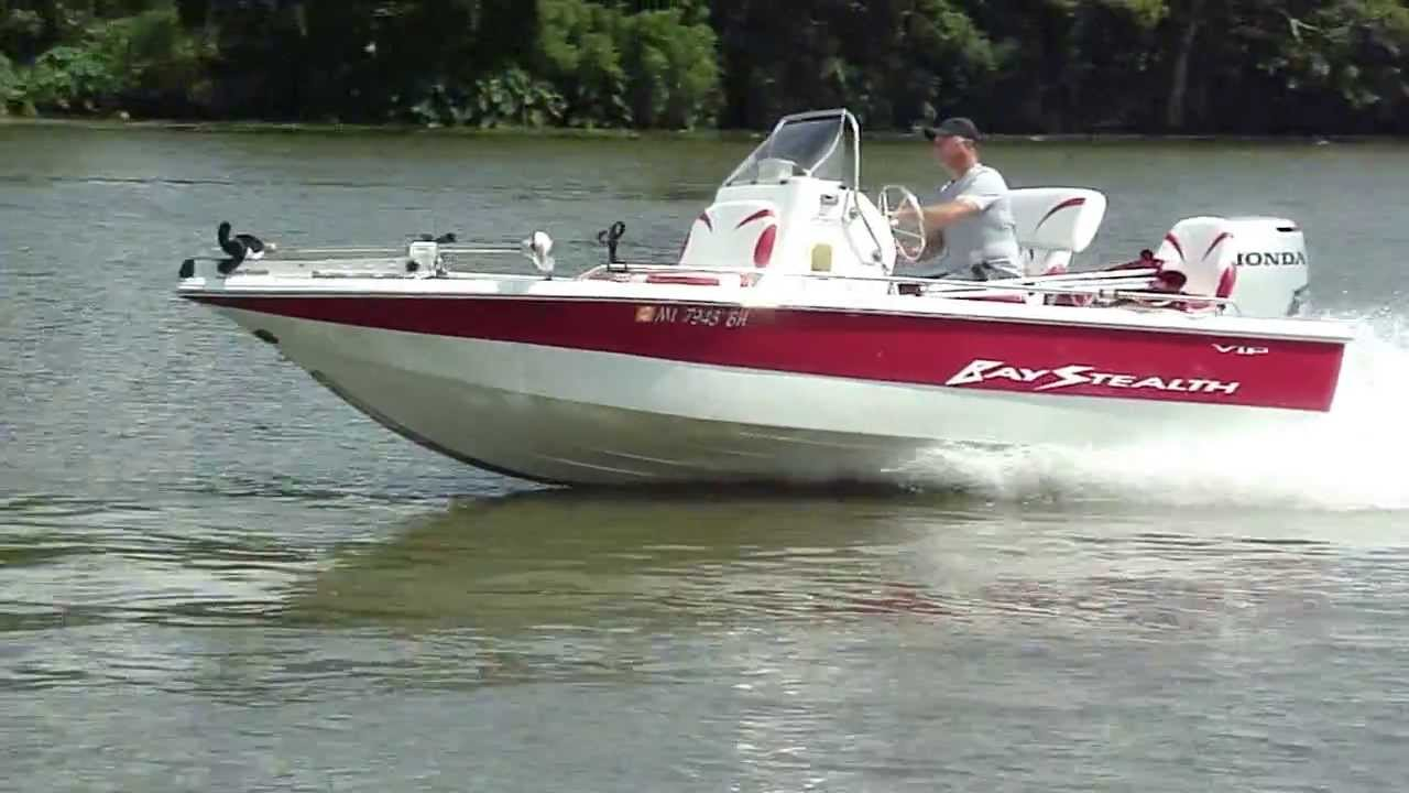 2004 Bay Stealth 1880 W  Honda 115 Four Stroke