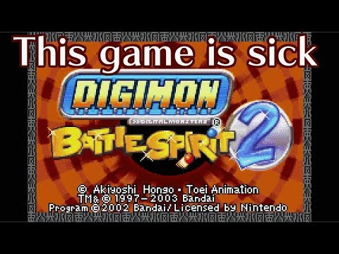 DIGIMON BATTLE SPIRIT 2. A Game I Liked As A Kid.