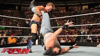 Chris Jericho vs. Luke Harper: Raw, Aug. 4, 2014