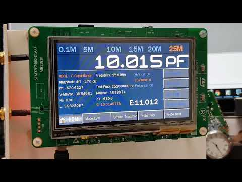 Repeat How to use the L / C meter on EU1KY Antenna Analyzer with CEC