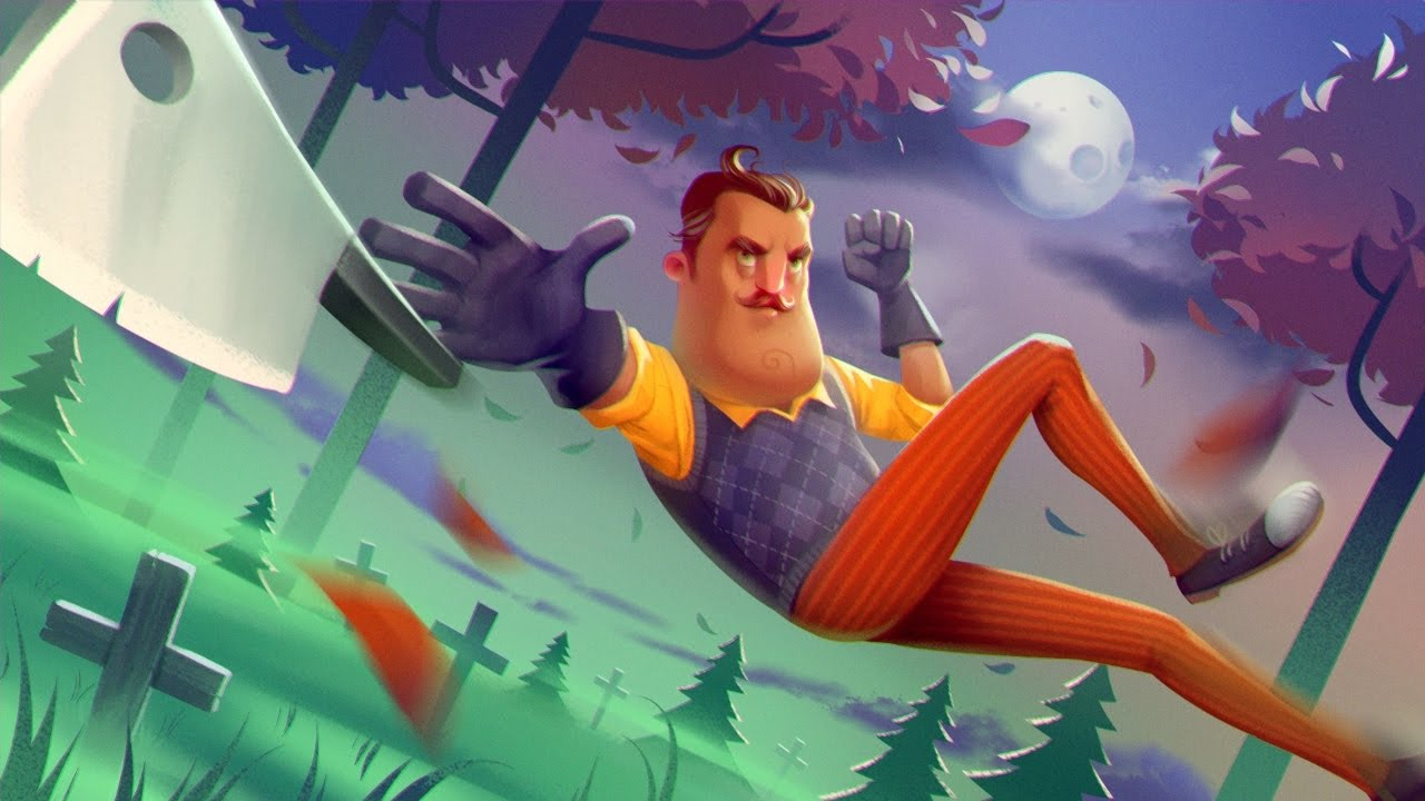 Hello Neighbor Basement Gameplay Pre Alpha Is Open For