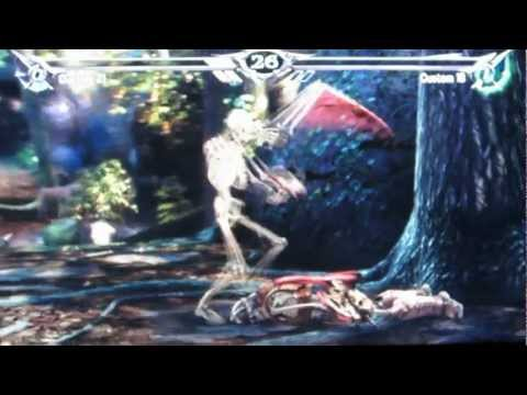 Soul Calibur V Character Creation: The Dead (Evil Dead Army Of Darkness)