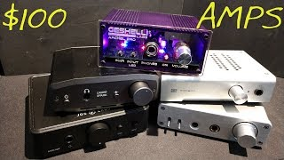 $100 HEADPHONE AMPS _ (Z Reviews) _