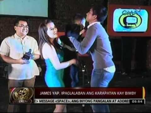 24oras: James Yap and Kris   Aquino, nagkausap na raw   matapos ang annulment ng   kanilang kasal