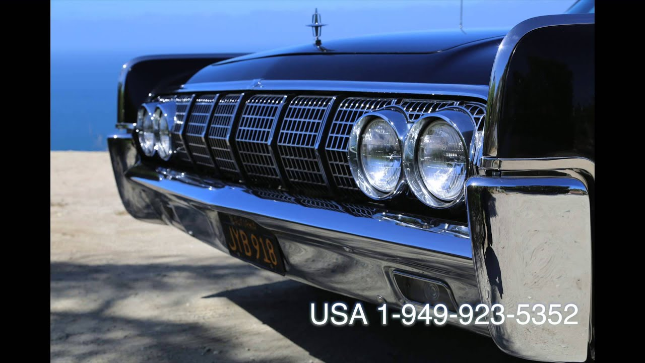 lincoln continental 1964 bucket seats youtube. Black Bedroom Furniture Sets. Home Design Ideas