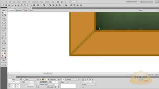 Adobe Fireworks Vector Chalkboard Graphics Tutorial CS4 CS5 CS6