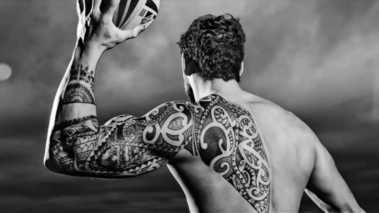 Shoulder Tattoo Designs For Men - YouTube