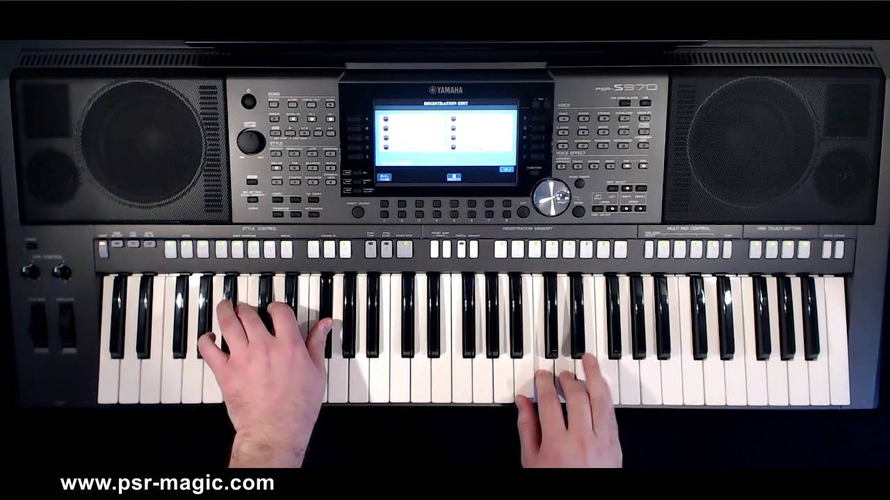 Euro Pop Organ Showcase | PSR-Magic - Software for PSR-S