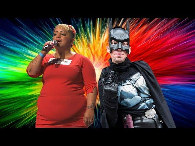 A Ferencvárosi Batman és az X-Faktoros Irénke