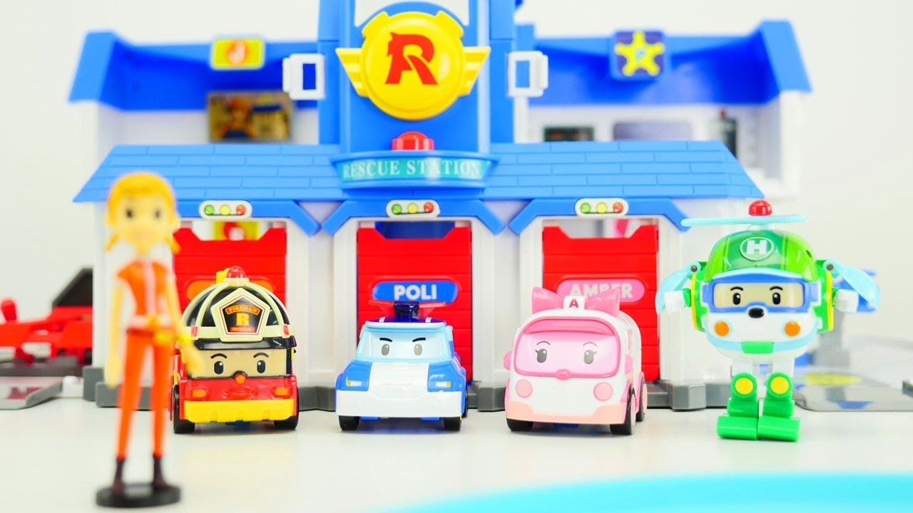 Robocar Poli E La Sua Squadra Video Educativo Per Piccoli Youtube