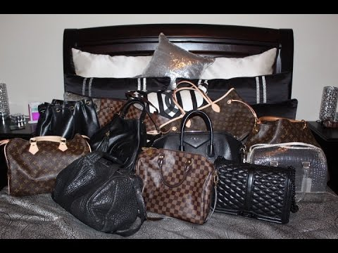 Handbag Collection, Review & Try-On