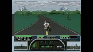 EA Replay Sony PSP Gameplay - Road Rash 1 Gameplay