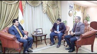 وزير الرياضة يتحدث عن أزمة محمد صلاح وكواليس مقابلته لوكيله