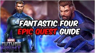 How I Got Mister Fantastic!! Fantastic Four Update GUIDE - Marvel Future Fight