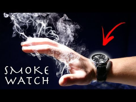 How To Make a $20 MAGIC SMOKE WATCH! Amazing Magic Gadget!!! (SMOKE FROM THIN AIR)
