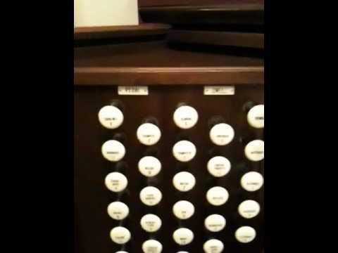 Allen organ demo