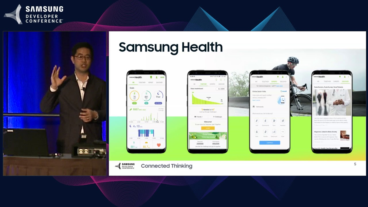 SDC 2017 Session: Samsung Health: Partnerships to Transform Health