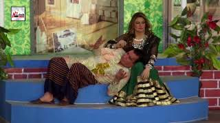 NASIR CHANUTI SAIMA KHAN KI SUHAG RAAT - Best Comedy Scenes Of 2018 in Stage Drama||Very Funny😂