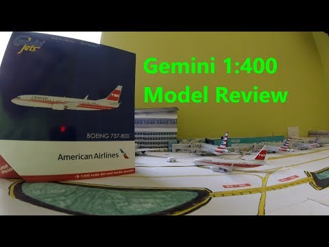 American Airlines TWA Heritage Livery 737-800 GeminiJets 1:400 Model Review