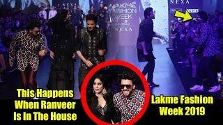 Chal Machayenge | Ranveer Singh With NEW LOOK At Lakme Fashion Week 2019 | #LFW2019