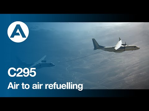 Airbus C295 successfully performs wet contacts as a tanker