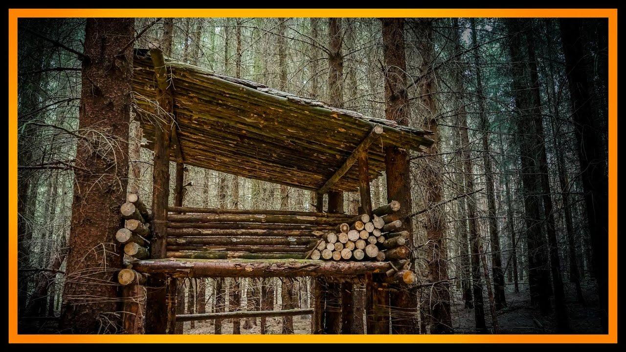 Bushcraft Camp S03 E01 Das Waldcamp Lagerbau Outdoor