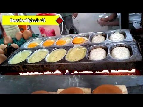 Delicious Egg Cake - Street Food Around The World - Episode#01