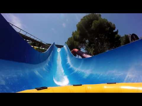 Spain, Mallorca, Aqualand  Water Park All Slides
