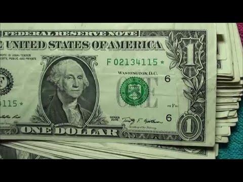 one dollar bill missing serial number