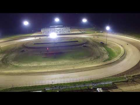 Junction Motor Speedway Modlite feature from drone