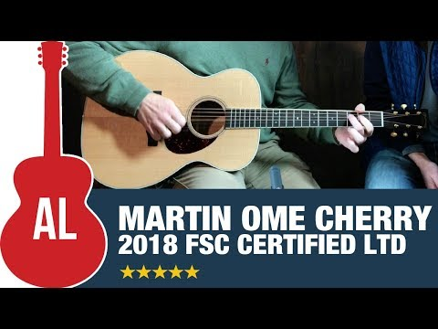 Martin OME Cherry (FSC Certified) - 2018 Limited Edition