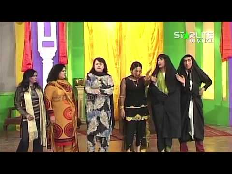 Zafri Khan, Naseem Vicky And Sajan Abbas - New Pakistani Stage Drama - Full Comedy Clip 2017