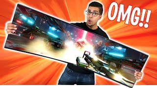 "UNBOXING & ULTIMATE REVIEW! - Samsung 49"" CHG 90 UltraWide HDR QLED Gaming Monitor"
