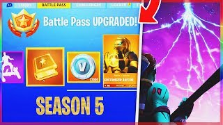 *NEW* FORTNITE SEASON 5 THEME LEAKED! | OFFICIAL Fortnite Battle Royale SEASON 5 THEME! (SEASON 5)