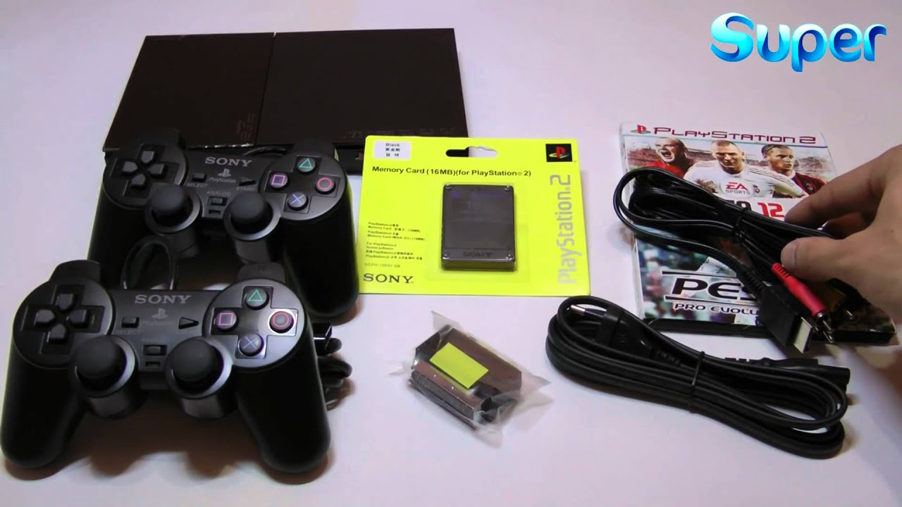 ОБЗОР Sony Playstation 2 Slim! - YouTube