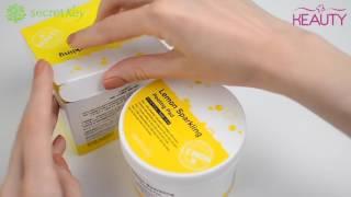Диски ватные для пилинга Secret key Lemon Sparkling Peeling Pad
