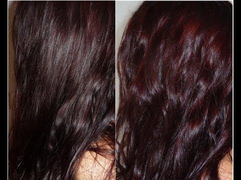 Couleur cheveux reflet aubergine