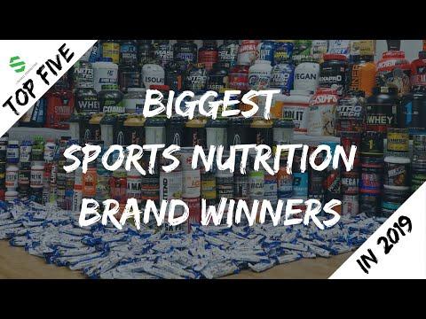 Top 5 Biggest Sports Nutrition Brand Winners in 2019
