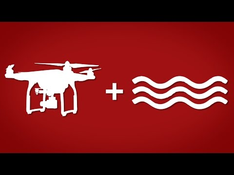 How to fly your drone over water | DJI PHANTOM