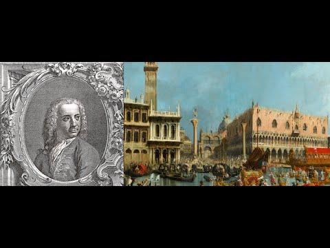 Video mostra Canaletto prima parte opere realizzate dal 1723 al 1763 Venezia