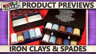 Product Preview - Iron Clays & Spades