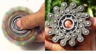 5 menit , Rantai Sepeda Bekas Jadi Fidget Spinner Keren