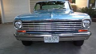 my 1963 Chevrolet Nova SS  /  full walk-around & engine start