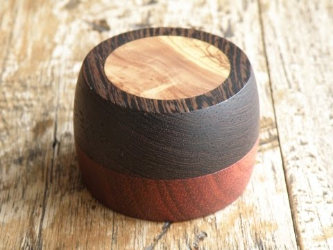 Woodturning - Ring box