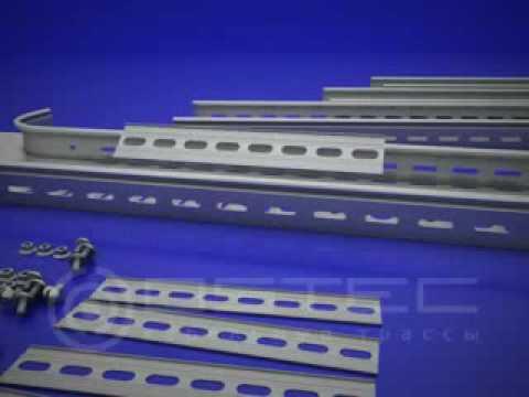 OSTEC соединение лотка и разветвителя крестообразного XT