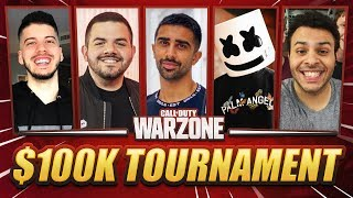 🔴 $100K YOUTUBE WARZONE CHARITY TOURNAMENT