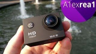 Обзор дешевой китайской action camera c WiFi за 50$.