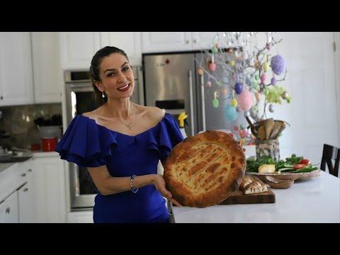 Матнакаш - Армянский Традиционный Хлеб - Рецепт от Эгине - Heghineh Cooking Show In Russian